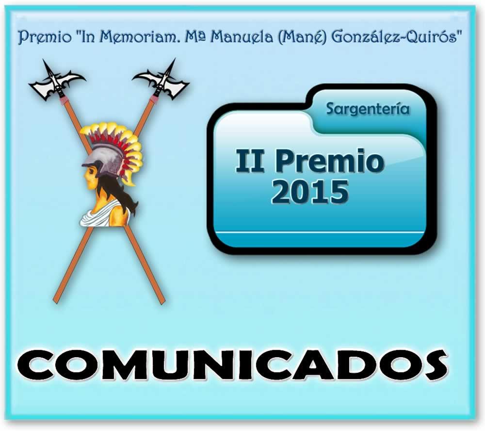 MANÉ. PREMIO. BANNERS. Comunicados 2015. WEB