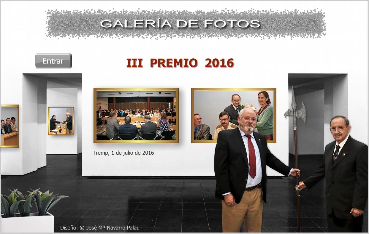 Montaje Premio 2016