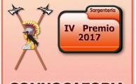 9/16. IV Premio 2017. Convocatoria