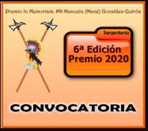 Convocatoria VI Premio 2020