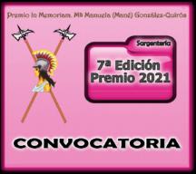 Convocatoria VII Premio 2021